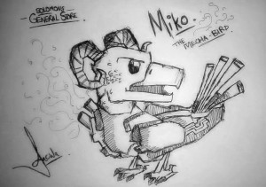 Miko the Mecha Bird