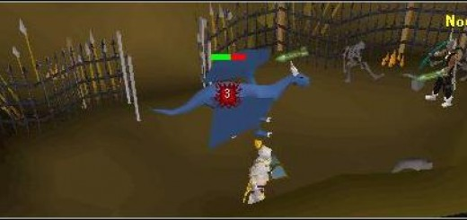 Runescaep The Blue Dragon