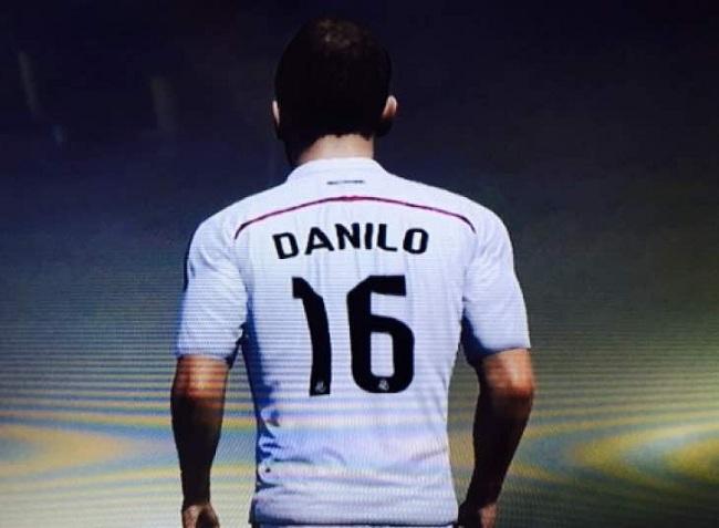 Danilo will be a FIFA 15 player