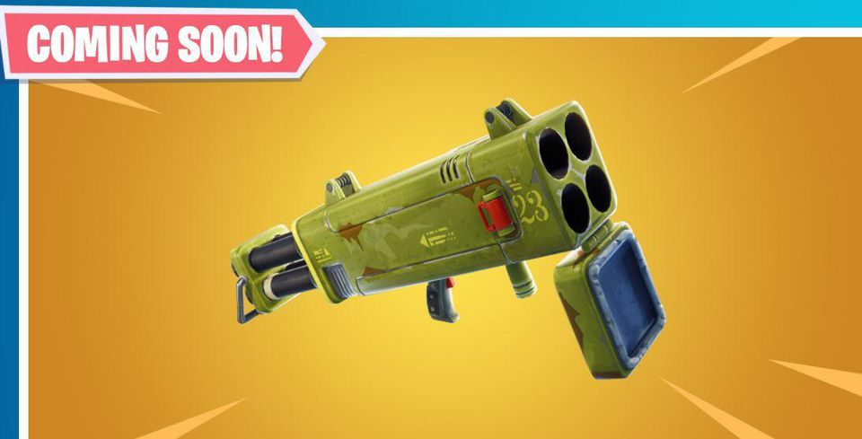New Epic Quad Launcher Rockets Come to Fortnite This Week