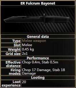 ER Fulcrum Bayonet