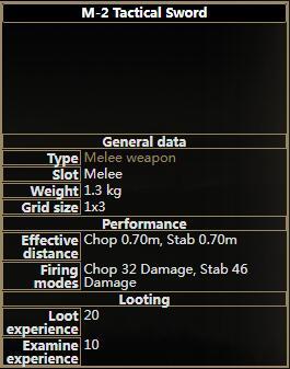 M-2 Tactical Sword